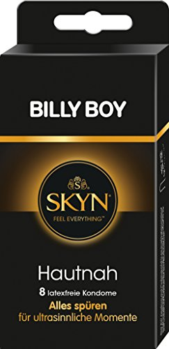 Billy Boy SKYN Hautnah Kondome, latexfrei, 8er Pack mit zertem Duft