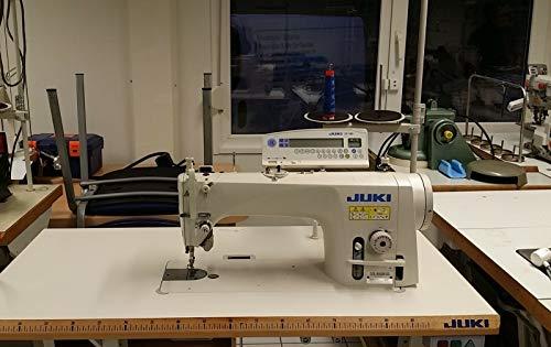 Juki Máquina de coser industrial DDL 9000 BSS, cortador de hilo automático, inicio automático y bloqueo final Servomotor