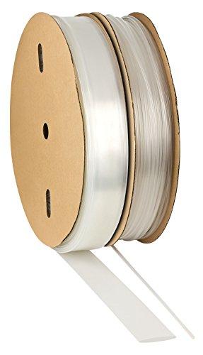Guaina termoretrattile 3:1 mit Kleber trasparente. Scelta di 12 diametri e 5 lunghezze da ISOLATECH, qui: Ø3/4inch - 10ft (Ø19mm - 3m)