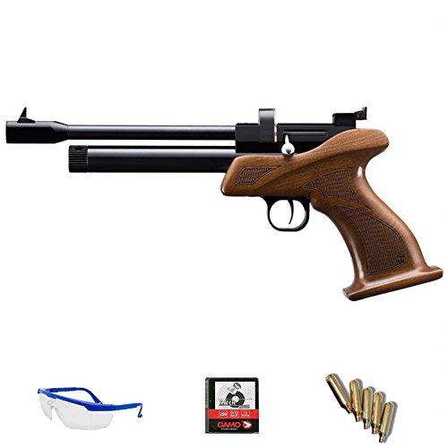 Zasdar Pack Pistola Cal. 5.5mm CP1 con Cargador multitiro CO2 <3,5J