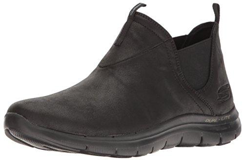 Skechers Flex Appeal 2.0 - Done Deal Women's Lite Weight Black BBK, tamaño de Zapato:EUR 37