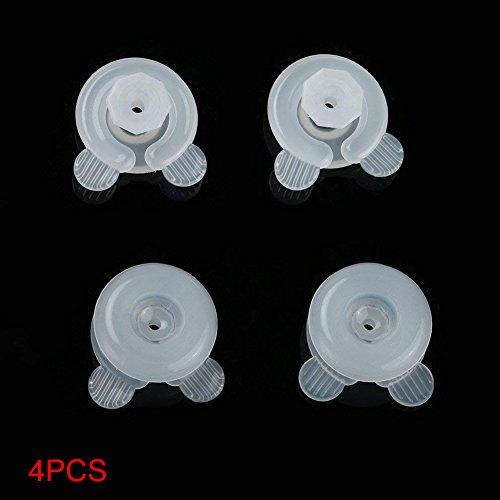 ZAK168 - Juego de 4 clips para edredón, fundas de edredón y fundas de almohada, evita que los edredones se muevan en el interior de los clips de edredón de plástico, As Picture Show, 4 piezas