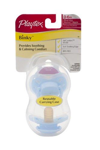 Playtex Binky Latex - Newborn - 2 Pk - Girl