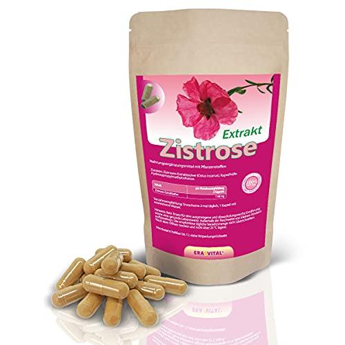 Zistrose Extrakt 40% Polyphenolen - Cistus incanus Extrakt - 120 Kapseln 600mg pro Kapsel - verkapselt ohne Zusatzstoffe vegan