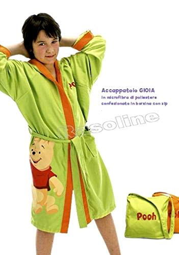 Albornoz Winnie The Pooh con Capucha y Bolsillos de
