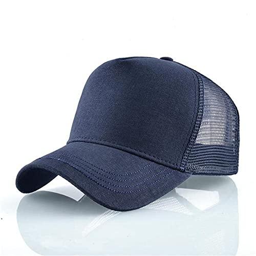 Moda Animali Berretti da baseball Uomo Donna Snapback Cappello Hip Hop Estate Maglia traspirante Sun Gorras Unisex Streetwear-Blue
