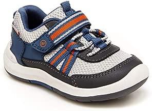 Stride Rite boys Srt Jasper Running Shoe, Grey, 8 Toddler US