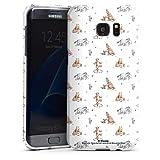 DeinDesign Coque Compatible avec Samsung Galaxy S7 Edge Étui Housse Winnie l'ourson Disney Produit...