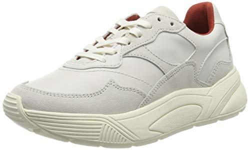 ESPRIT Damen Misha Lu Sneaker, Weiß (Off White 110), 39 EU