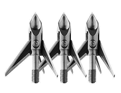 Ramcat Pivoting Broadheads (Deep Six Thread - 100 Grain)
