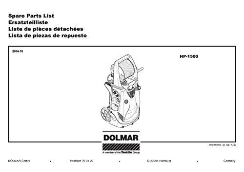 Pieza de repuesto original dolmar hobby sierra PS 32 Starter resorte