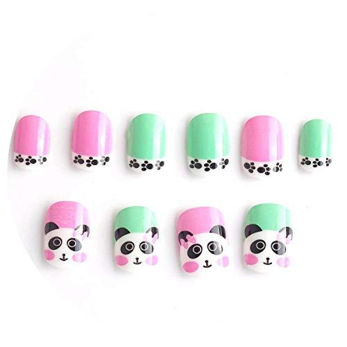 Uñas Postizas Niñas marca Hengheng-shop false-nails