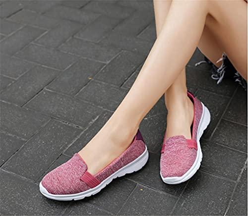 YUBNFN Zapatos Planos De Mujer, Mocasines, Zapatos Cómodos Informales para Mujer, Zapatillas De Deporte para Mujer, Zapatos Planos De Bailarina, Zapatos De Mujer Purple 36