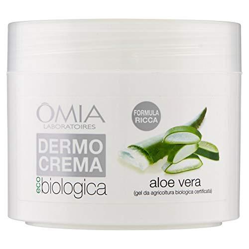 Omia, Dermocrema, Crema Corpo Ricca Ecobiologica all'Aloe Vera da Coltivazione Biologica Certificata - 250 ml