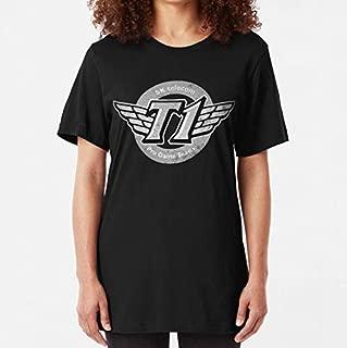 SKT T1 Vintage Logo (best quality ever) Slim Fit TShirt, Unisex Hoodie, Sweatshirt For Mens Womens Ladies Kids