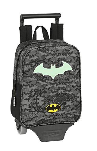 Safta Batmann, Sac à Dos Enfants Unisexe, Gris/Noir, One Size