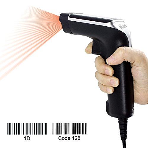 Symcode Barcode Scanner,USB Wired Handheld Laser Bar Code Scanner Reader Black barcode handheld scanner
