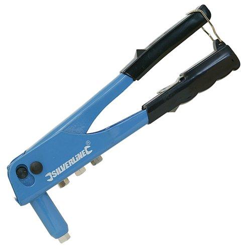 Silverline 868792 - Remachadora (tamaño: 250mm)