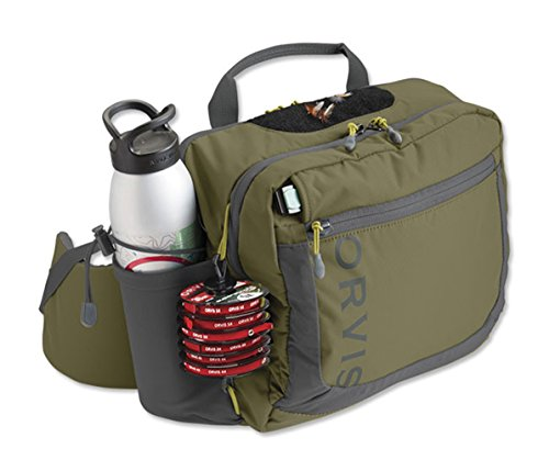 Orvis Safe Passage Hip Pack OLIVE/GREY ONE SIZE