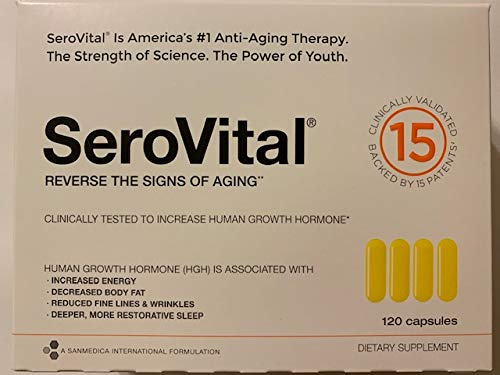 SeroVital-HGH 120 caps, Human Growth Hormon AntiAging Formula