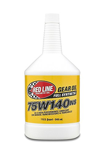 Red Line 57104 75W140NS GL-5 Gear Oil, 1 Quart, 1...