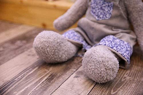OELPAN Gefüllte Spielzeug 1 Stück 40 cm Nette graue Bär Paar Teddy Spielzeug Kleid Bär Strap Teddy Spielzeug Kinder Geburtstagsgeschenke Puppe