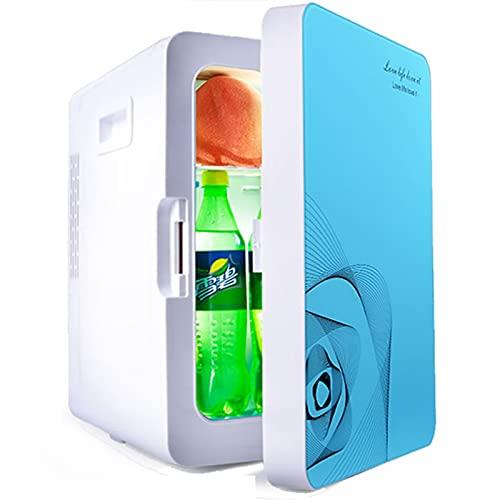 Refrigerador de 20 L, Doble Uso para automóviles y hogares, Cable de 1,8 M de Longitud, calefacción y refrigeración multifuncionales,Azul