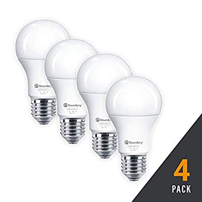 Boundery Emergency Power Failure LED Light Bulb - Safety During Power Outage - Lights Up Automatically When Power Fails - Rechargeable Battery - Works Like Ordinary Bulbs - 3500K Hurricane 9W