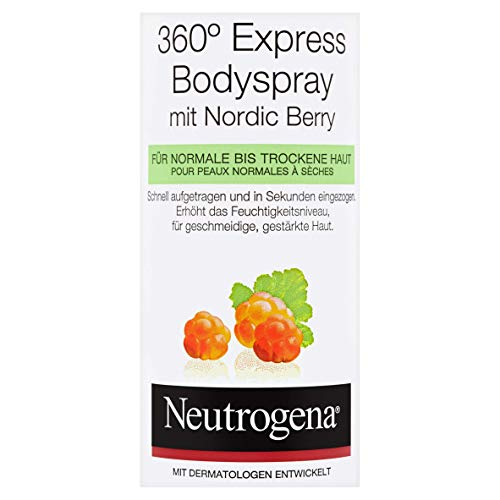 JOHNSON & JOHNSON GMBH Neutrogena norwegische formel nordic berry express body spray - 2 x 200ml