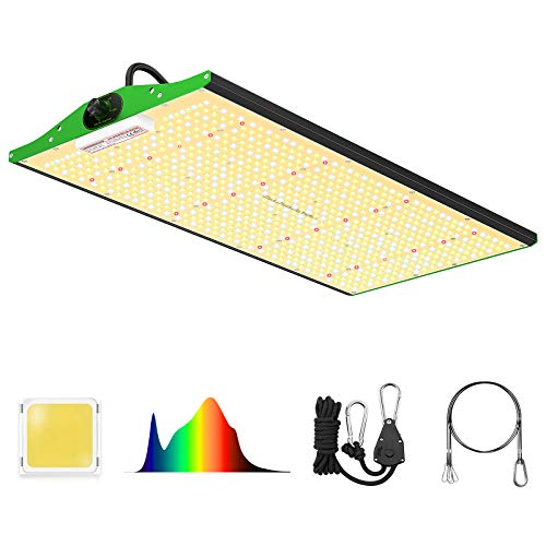 Grow Light, VIPARSPECTRA Newest P2500 LED Grow Light, with Samsung Diodes,Dimmable Full Spectrum Growing Light for Hydroponic Indoor Plants Seedling Veg Flower