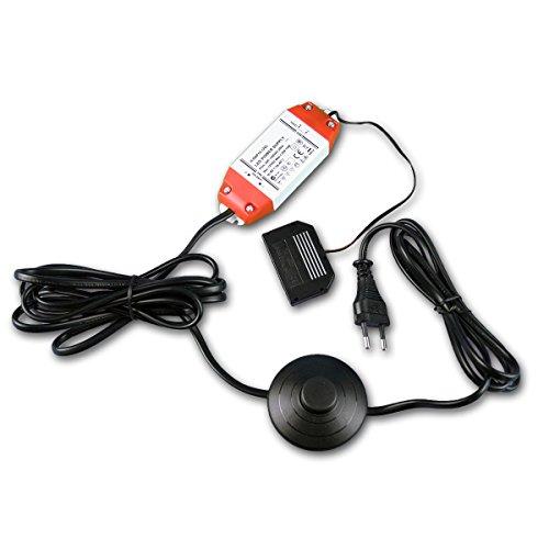 LED Netzgerät 12VDC/15 Watt Fußtretschalter, Trafo