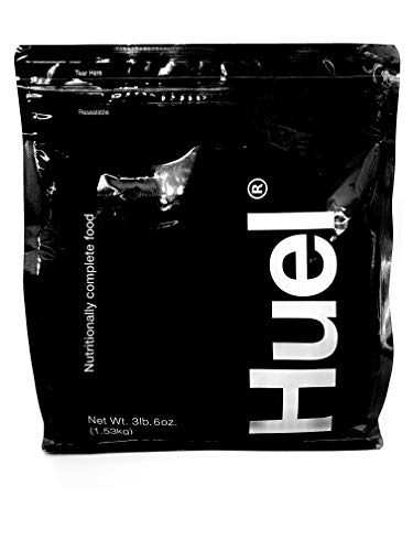 Huel Black Edition - Nutritionally Complete 100% Vegan Gluten-Free - Less Carbs More Protein - Powdered Meal (Vanilla, 1 Bag)