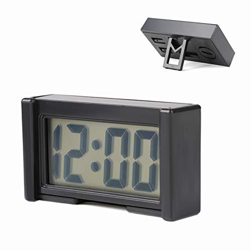 Mini Auto Uhr Digitaluhr Interior Armaturenbrett Fahrzeug Elektronische Clock Universal Zeit Datum Kalender Mit Halterung