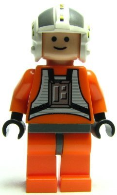 LEGO Star Wars - Minifigur Wedge Antilles aus Set 6212