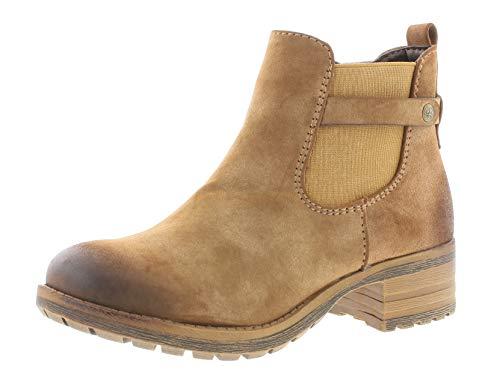 Rieker Damenschuhe 96864 Damen Stiefel, Schlupfstiefel, Boots braun (REH / 24), EU 40