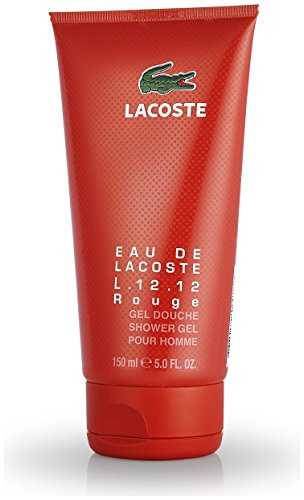 Lacoste Eau de L.12.12 Rouge homme/men, Shower Gel, 1er Pack (1 x 150 ml)