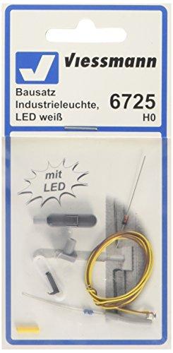 Viessmann 6725 - H0 Bausatz Industrieleuchte, LED, weiß
