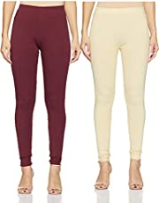 Amazon Brand - Myx Women's Chudidar Fitted Leggings