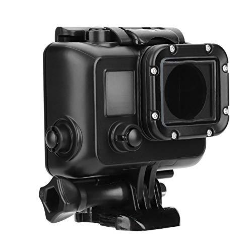 FECAMOS Cubierta Protectora de la Carcasa subacuática de la cámara Revestimientos de 3 Capas Robusto y Duradero, para Go-Pro Hero 3/3 + / 4