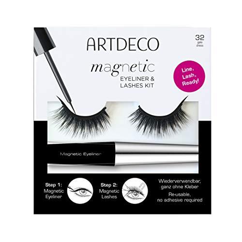 ARTDECO Magnetic Eyeliner & Lashes Kit, Künstliche Magnet-Wimpern, Nr.32, gala dress