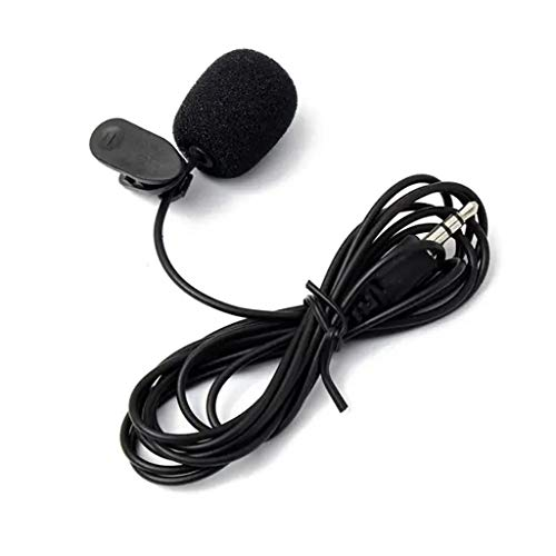 Great Features Of HoneyGod Microphone for Camera, PC, Lavalier Clip On Lapel 3.5 mm with USB Chargin...