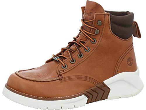 Timberland M.T.C.R. Moc Toe Boot Medium Brown Full-Grain 9.5 D (M)