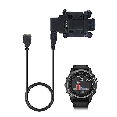 FeiyanfyQ Câble de chargement et de données USB pour montre GPS Garmin Fenix 3 HR Sapphire Quatix3 1 m
