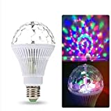 LED rotary light bulb home KTV color light flash light energy-saving led colorful trampoline waterproof (6 colors voice control)