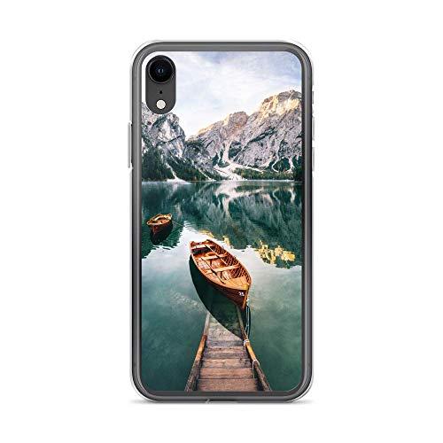 blitzversand Funda para teléfono móvil Boat Trip Relax compatible con Huawei G8 Mini See Berg, funda protectora transparente alrededor de protección dibujos animados M5