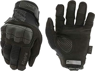 Mechanix MP3-55-010 M-Pact 3 Covert Gloves, Black, Large