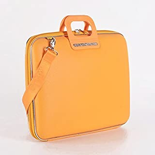 Bombata Bag Firenze Briefcase for 17 Inch Laptop - Yellow
