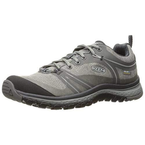 KEEN Women's Terradora Waterproof Hiking Shoe, Neutral Gray/Gargoyle, 6.5 M US
