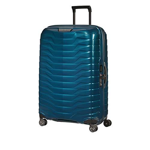 Samsonite Proxis CW6003-Petrol Blue - Maleta rígida de 75 cm, 4 ruedas grandes