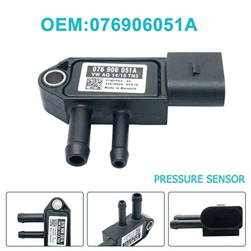 JK-2 DPF V-VV 076906051A Sensor de presión diferencial del Filtro de partículas diésel